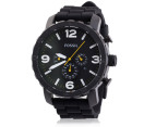 Fossil Men's Nate Chrono Watch - Black 1
