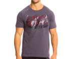 Everlast Men's Army Of One Tee - Charcoal Marle 1