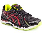 ASICS Men's Gel Kayano 19 - Black/Red/Lime - US 7.5 1