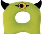 BenBat Travel Friends Neck Pillow - Green Cyclops 2