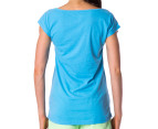 Russell Athletic Women's Ivy Stamp Tee - Skylight 3