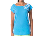 Russell Athletic Women's Ivy Stamp Tee - Skylight 1