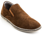 Julius Marlow Men's Combo Shoe - Rust Suede 1