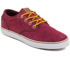 Globe Men's Motley Shoes - Burgundy 4