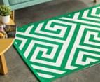 Jacquard Broadway 180x120cm Floor Rug - Green 1