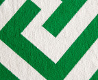 Jacquard Broadway 180x120cm Floor Rug - Green 6