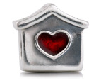 Pandora Doghouse Charm - Silver/Red 4