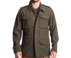 Obey Men's Downtown Iggy Jacket - Army 1