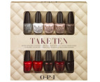 OPI Nail Lacquer Take Ten Collection 10-Piece Set 2