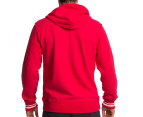 Mitchell & Ness Chicago Bulls Zipper Hoodie - Red 3