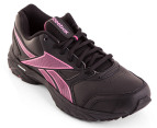 Reebok Women's Triplehall - Black/Cosmic Berry 4