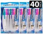 Paper Mate Kilometrico i-Fluoro Pens 40-Pack 1