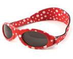Baby Banz Adventure Banz Sunglasses 2-5 Years  - Red Dot  2