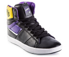 Element Men's Omahigh High Tops - Black/Purple 1
