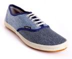Spare Men's Size 6 Boston Shoe - 2 Blue Wash  1
