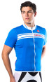 Castelli Prologo Short-Sleeved Jersey - Blue 4