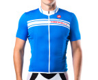 Castelli Prologo Short-Sleeved Jersey - Blue 1