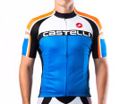 Castelli Velocissimo Short-Sleeved Jersey - Blue 1
