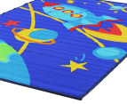 Spaceship 150x100cm Kids' Rug - Blue 3