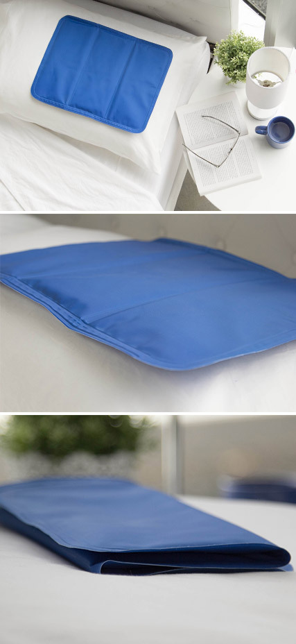 Details about Chill Out 40 x 30cm Cooling Mat For Pillow