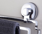 Everloc Stainless Steel Twin Towel Rail 50cm 3