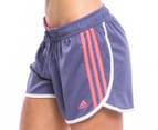 Adidas Women's End Zone Training Shorts - Shade Grey 1