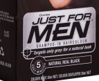 Combe Just For Men Shampoo-In Hair Colour Black 30mL 3