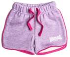 Lonsdale Baby Hornebolt Shorts - Lilac Marle 4