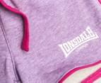 Lonsdale Baby Hornebolt Shorts - Lilac Marle 3
