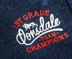 Lonsdale Toddler Burgh Shorts - Navy Marle 3