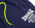 Lonsdale Boys' Leventhorpe Shorts - Navy 3