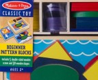 Melissa & Doug Beginner Pattern Blocks 2