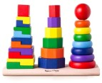 Melissa & Doug Geometric Stacker 1
