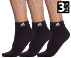 Adidas CR T LinAnkle Socks 3-Pack - Black 1