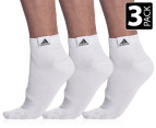 Adidas CR T LinAnkle Socks 3-Pack - White 1