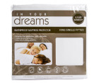 In Your Dreams King Single Bed Bamboo Waterproof Mattress Protector 3