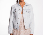 Wrangler Women's Tracker Jacket - Acid Wash 1