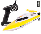 Remote Control High Speed Racing Boat - Yellow 1
