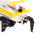 Remote Control High Speed Racing Boat - Yellow 2