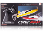 Remote Control High Speed Racing Boat - Yellow 4