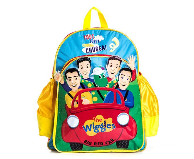 Wiggles Big Red Car Backpack Catch Com Au