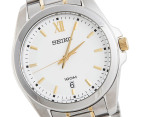 Seiko Men's Dress Watch - Silver/Gold 2