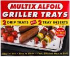 Multix Alfoil Griller Trays 4pc 3