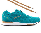 Reebok Men's GL 6000 - Teal/Brown/White 1