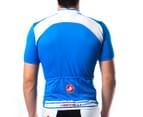 Castelli Prologo Short-Sleeved Jersey - Blue - S 3