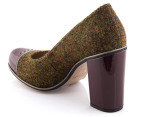 Clarks Women's Cornish Ice - Green Tweed 3