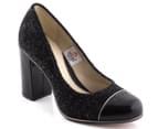 Clarks Women's Cornish Ice - Black Tweed 4