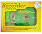 How To Play Recorder Book & Kit 1