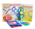 Let's Make Spiral Doodles Book & Kit 1