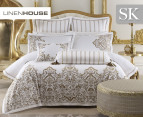 Linen House Couture Super King Quilt Cover Set - Gold 1